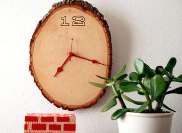Tạo nét chấm phá độc đáo cho không gian sống của bạn bằng đồng hồ dán tường DIY