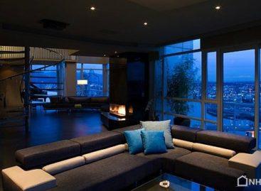Vẻ đẹp xa hoa và lộng lẫy của căn hộ Vancouver Penthouse