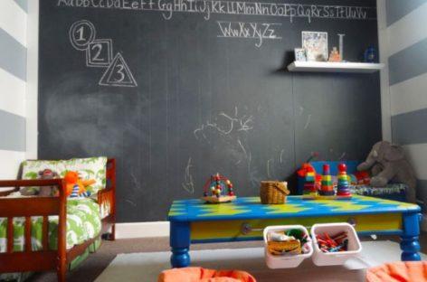 Cách thức để tạo ra một tấm bảng viết phấn cho căn phòng của bạn