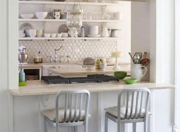 Căn bếp tinh khôi với sắc trắng