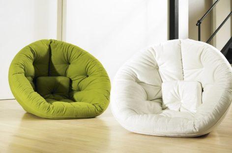 Trải nghiệm cảm giác êm ái với chiếc ghế Nest