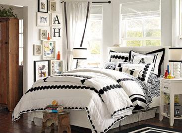 Những mẫu gối và drap trải giường phong cách cho teen girl