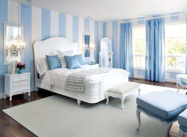 Phòng ngủ lý tưởng với sắc xanh
