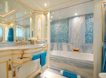 Ý tưởng thiết kế phòng tắm bằng đá cẩm thạch