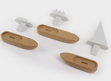 Trở về tuổi thơ với bộ đồ chơi gỗ Bote