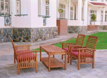 Hòa mình cùng thiên nhiên với các sản phẩm ngoại thất gỗ (Phần 1)