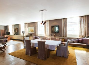 Triplex Penthouse – Căn hộ với các sắc màu vintage tuyệt đẹp