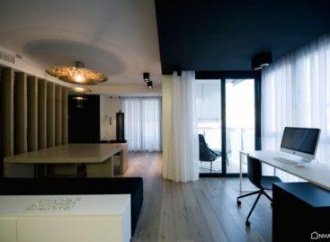 Tận dụng đặc tính nổi bật của loại vật liệu HI-MACS trong căn hộ Doble Dueto
