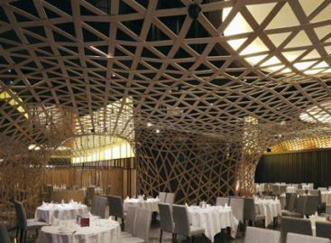 Thiết kế nhà hàng độc đáo với vật liệu tre truyền thống
