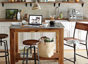 20 kiểu ghế đẩu hiện đại cho nhà bếp