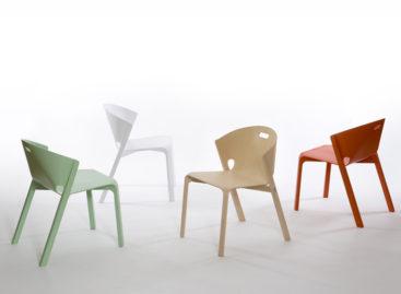 Những đường nét thanh lịch của chiếc ghế Pelt