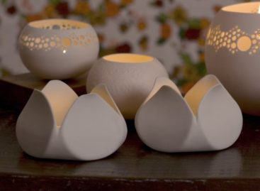 Mẫu đèn gốm cho Spa và nhà vườn