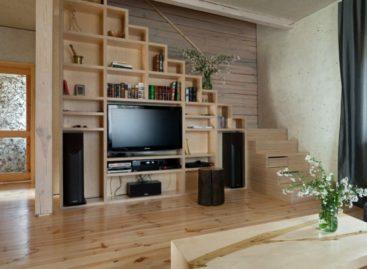 Vẻ đẹp mộc mạc và ấm áp trong căn nhà gỗ do Ryntovt Design thiết kế