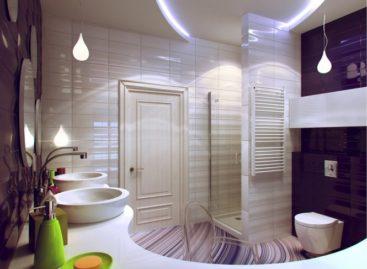 Ấn tượng với thiết kế thông minh cho phòng tắm nhỏ