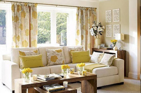 Cách trang trí nội thất phòng khách cho 12 tháng trong năm