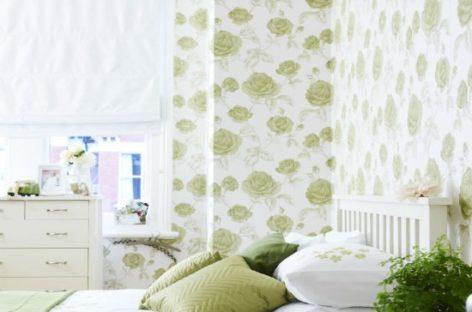 10 mẫu giấy dán tường ấn tượng cho phòng ngủ