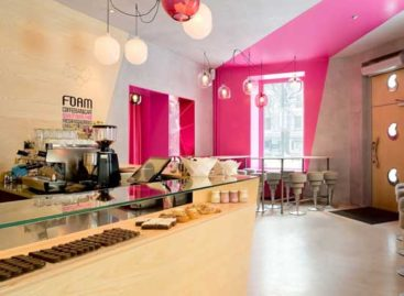 Chiêm ngưỡng quán cafe Foam xinh đẹp ở Thụy Sĩ