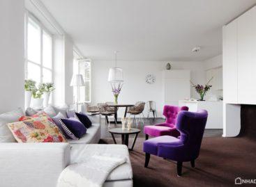 Khám phá căn hộ phong cách ở Stockholm