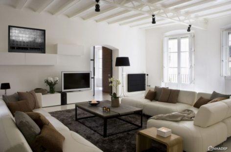 Nội thất sang trọng trong căn hộ ở Barcelona