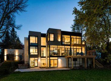 Khám phá vẻ đẹp của căn nhà bên bờ sông Ottawa thanh bình