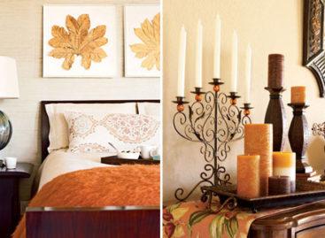 Ý tưởng trang trí nhà vào mùa thu
