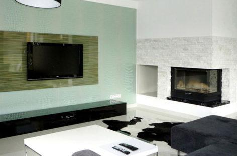 Sắc xanh hài hòa dành cho nội thất căn hộ gia đình