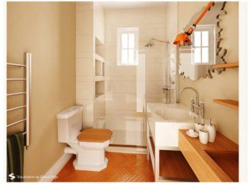 11 phòng tắm mang phong cách nghệ sĩ