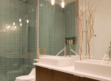 Giải pháp ánh sáng cho phòng tắm hiện đại