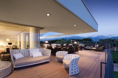 Ngắm nhìn vẻ đẹp đầy lôi cuốn của khách sạn 5 sao Principe Forte Dei Marmi