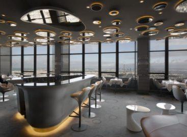 Ấn tượng với lối thiết kế nội thất của nhà hàng Ciel de Paris