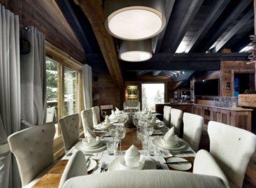 Khu resort sang trọng ở vùng núi trượt tuyết Alps của Pháp