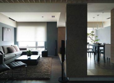 Thiết kế hiện đại của ngôi nhà theo phong cách tối giản