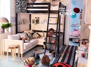 Nội thất IKEA dành cho những căn phòng có diện tích nhỏ