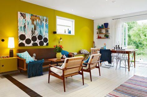 Tổ ấm rực rỡ ấn tượng với phong cách thiết kế nội thất theo kiểu Bắc Âu