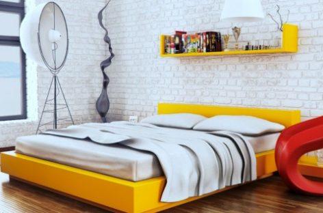 Phòng ngủ sang trọng với gam màu sắc tươi tắn