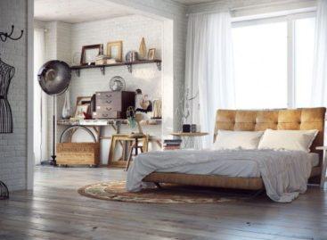 Phòng ngủ với thiết kế độc đáo của Blalank Studio