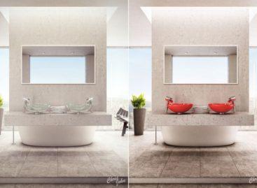 Những mẫu thiết kế phòng tắm hiện đại mang phong cách Spa