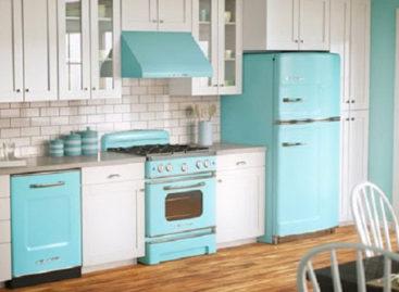 Ý tưởng thiết kế nhà bếp theo phong cách Retro