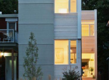 Giải pháp thiết kế cho ngôi nhà nhỏ ở Hintonburg