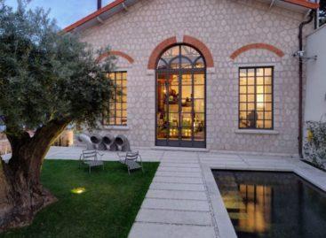 Vẻ đẹp của căn hộ được biến đổi từ trạm làm sạch nước ở Pháp