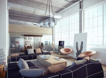 Chiêm ngưỡng không gian căn hộ loft xinh đẹp