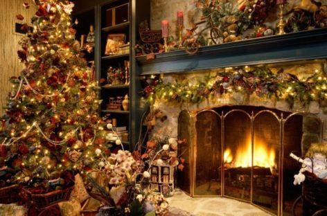 Trang trí nội thất mùa Giáng Sinh