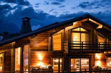 One Oak Chalet – Biệt thự gỗ sa hoa trên dãy núi Alps của Pháp