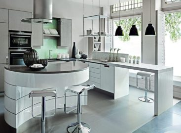 Chọn màu sắc thích hợp cho không gian bếp