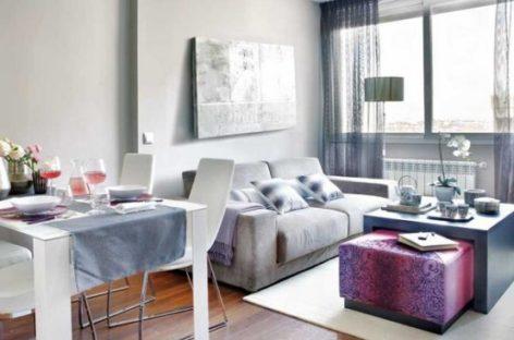 Điểm xuyết nội thất màu hồng cho căn hộ nhỏ ấm cúng