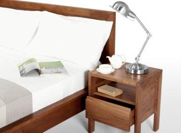 Giản dị với tủ kê đầu giường Ledger