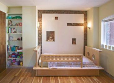 Những ý tưởng thiết kế giường ngủ cho trẻ nhỏ