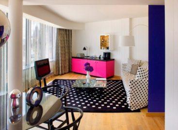 Ấn tượng với lối thiết kế trẻ trung đầy màu sắc của khách sạn Missoni