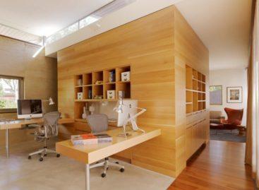 Ý tưởng thiết kế không gian làm việc tại gia đình