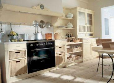 Nội thất nhà bếp theo phong cách miền quê nước Ý
